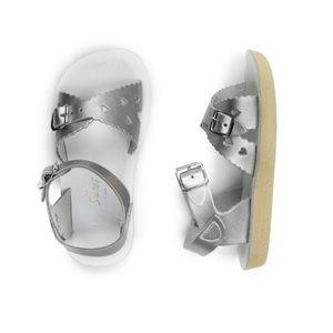 SALT WATER SANDAL sweetheart sandal - silver